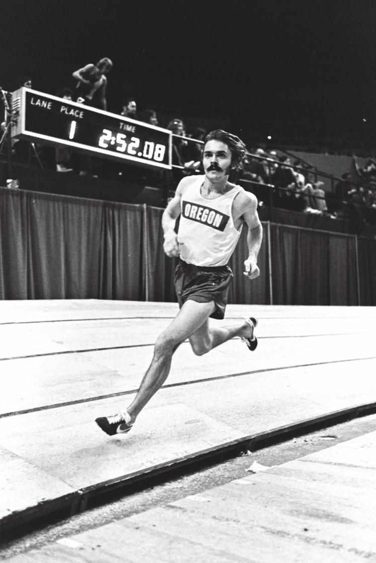 Prefontaine at Indoor Nationals